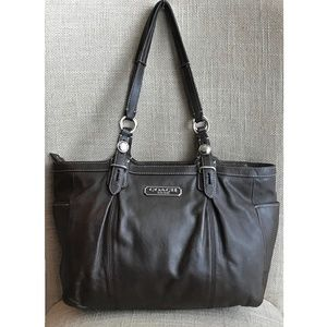 COACH Gallery Tote Handbag Shoulder Bag F15147